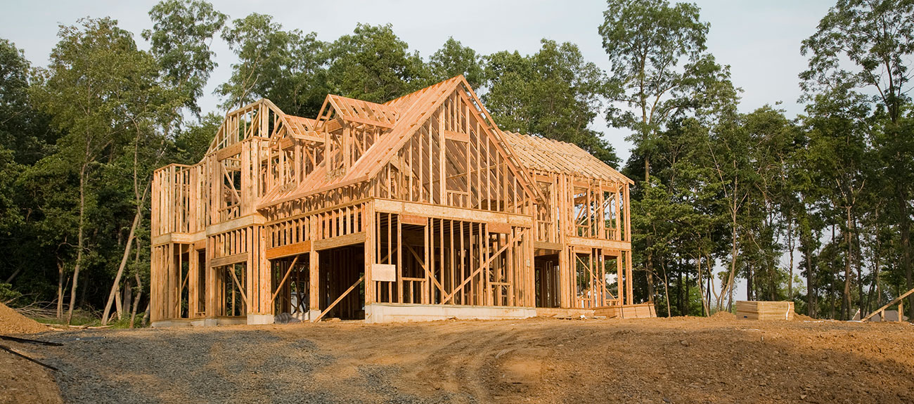 new home under construction in lehigh valley pa